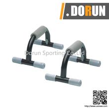 Steel S push up bar chromed pull up bar rotation push up bar functional body twister
