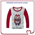 Snoopy top nomes diferentes estilos de roupas, vermelho moda mangas de camisa para crianças