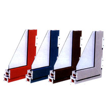 Many color upvc window and door profile popular in China