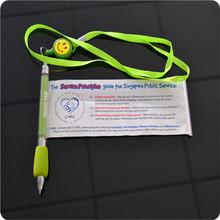 2014 factory wholesale good quality novelty promotional flower pen