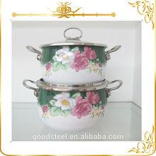 Conference Gift carbon steel porcelain enamel cookware sets