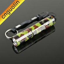 Pailide/PLD 2014 new promotional gift LED green fatigue mini flashlight