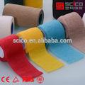 Z- mano tear adhesivo elástico vendaje de algodón luz eab 5cm/7.5cm*6.9m( ce/fda/tuv/iso aprobado)