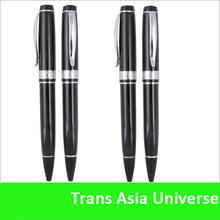Top quality custom logo on pen clip metal pen