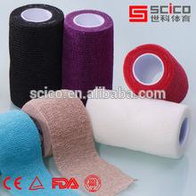 Z-Hand Tear Elastic adhesive cotton sports bandage Light teared EAB 2.5cm/5cm7.5cm*4.5M/6.9M(CE/FDA/TUV/ISO Approved)