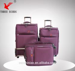 Big capacity 360degree wheels nylon luggage bag belt, car roof luggage, compass luggage- Order from china direct