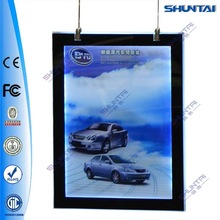 China led acrylic magnet photo frame display