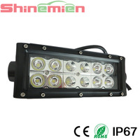 7INCH 36W CREE LED WORK LIGHT BAR for off road use,military,agriculture,marine,mining