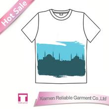 180GSM 100 percent cotton city lab t shirts graphic t shirts manufacturer