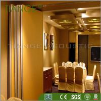 restaurant sliding interior partition wall panels