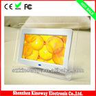 Black/White/Display 7 inch LCD screen High quality Digital Photo Frame
