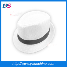 Classic wholesale summer straw fedora hat MZ-799