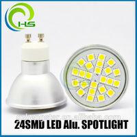aluminum 24smd led light,New design aluminum 50*54 gu10 mr16 e14 b22,warm/pure/cold white 24smd led light,aluminum 24smd led li