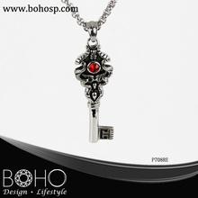 Stainless steel women key chain pendant