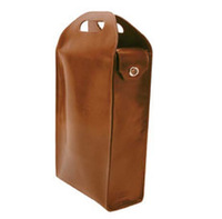 Wholesale Two bottle Wine Leather Carrying Case