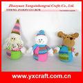 De navidad de peluche de juguete zy13s371-1-2-3 26cm navidad cifras en movimiento