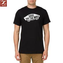 oem Custom men black t shirt