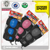 eva foam knee pads, skateboard bicycle protector set Bike Accessory,knee and elbow pads