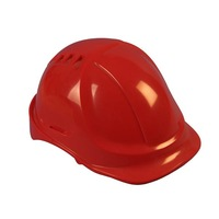 HDPE/ABS high quality & cheap safety helmet with air vent