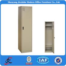 Single door storage military steel locker, wardrobe closet, baby used wardrobe