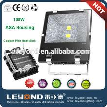 2014 APS new design hot selling 100W aluminium shell led flood light