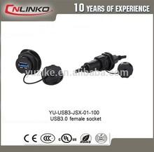 china factory price CNLINKO IP67 waterproof pn61729 berg usb connector