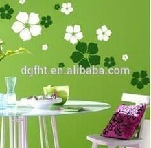 Hot sale Customized beautiful flower wall sticker home decor