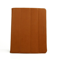 For Apple Ipad 2/3/4 Smart Stand Case Cover PU Leather Brown