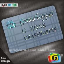 Laser Foil Printing Business Card/Gold Foil Embossed Business Cards