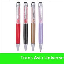Hot Sale custom crystal rhinestone bling pens