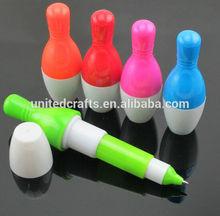 Wholesale Promotional Plastic Bowling Pen