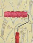 "Pattern design paint roller - 7"" Rubber Roller"