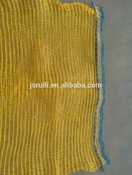 50x80 cm plastic onion/fruit mesh bag with drawsring