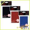 Custom design cymk printing deck protector trading card sleeves