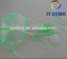 2014 wholesale popular aquarium ornaments -artificial silicone jellyfish