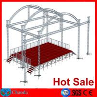 Hot sale Guangzhou China Cheap CE,SGS ,TUV cetificited aluminum triangle truss lighting truss circle truss