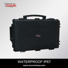 waterproof travel kit China manufacturer model 764840 tsunami plastic case wine Champagne carry case
