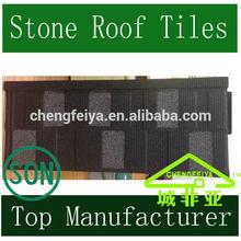 Flat Shingle Roof Tile /Stone Coated Steel Roof
