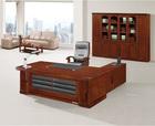 New L shape Wood Veneer Executive Table, MDF Office Table,Office Desk