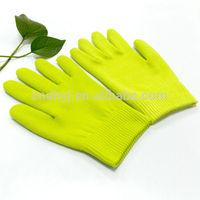 white cotton gloves moisturizing cotton gel mask spa gloves