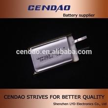 rechargeable small good quality 650mah 3.7v high Performance 5v li ion polymer battery