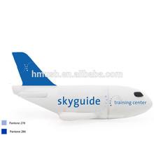 Wholesale plane shape USB memory 8GB from shenzhen factory PVC air plane shape memory stick custom solution