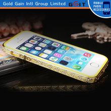Elegant Diamond Bumper Case for iPhone 5s