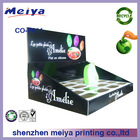 Meiya POP Cardboard counter top Displays case carton displays stand/rack/box/holder with insert part for e-liquid bottles