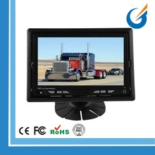 PAL/NTSC TV System HD Good Quality 7 Inch LCD Monitor for Bus