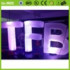 Colorful outdoor and indoor led lighted inflatable advertising letters