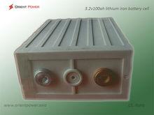 3.2V 100ah deep cycel long life lifepo4 lithium ion battery