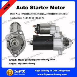 OEM standard 12V 9T auto starter Motor for AUDI 80 90 100 A4 A6