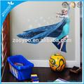 Extraíble para el hogar del pvc etiqueta de la pared/pared calcomanía 3d congelados de la princesa