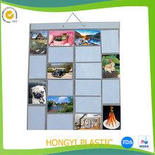 4x6 pvc pocket slip-in photo albums,pvc photo pocket bag,vinyl pocket digital photo frame